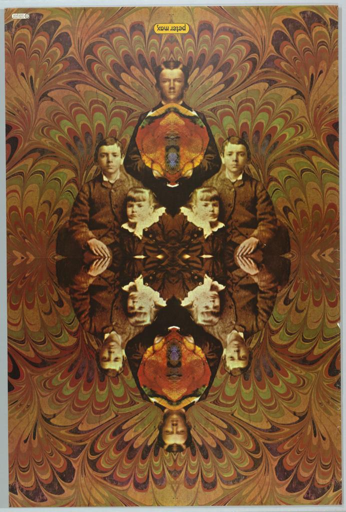 Poster, 10 Siblings, Peter Max Corporation, 1967