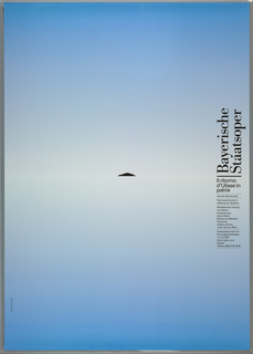 Poster, Bayerisch Staatsoper, Siegfried, Richard Wagner