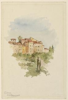 Drawing, Siena