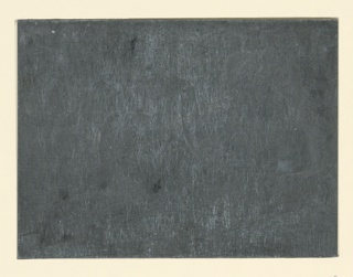 Recto: Etched zinc plate from which 1957-122-114-a was pulled. Verso: Studies of four female heads and vegetation.