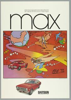 Poster, Max: Datsun, 1972