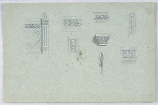 Drawing, Studies of Architectural Details