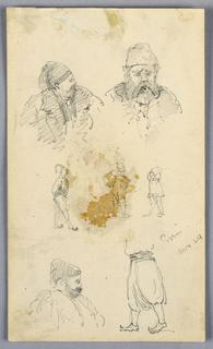 Drawing, Sketches at Pireus