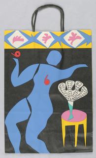 Shopping Bag, Bloomingdale's [Matisse- style interior]