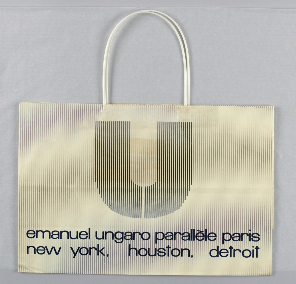 Shopping Bag, Emanuel Ungaro   Objects   Collection of