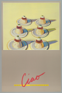 Poster, Ciao: Ciao Resturant, 1979