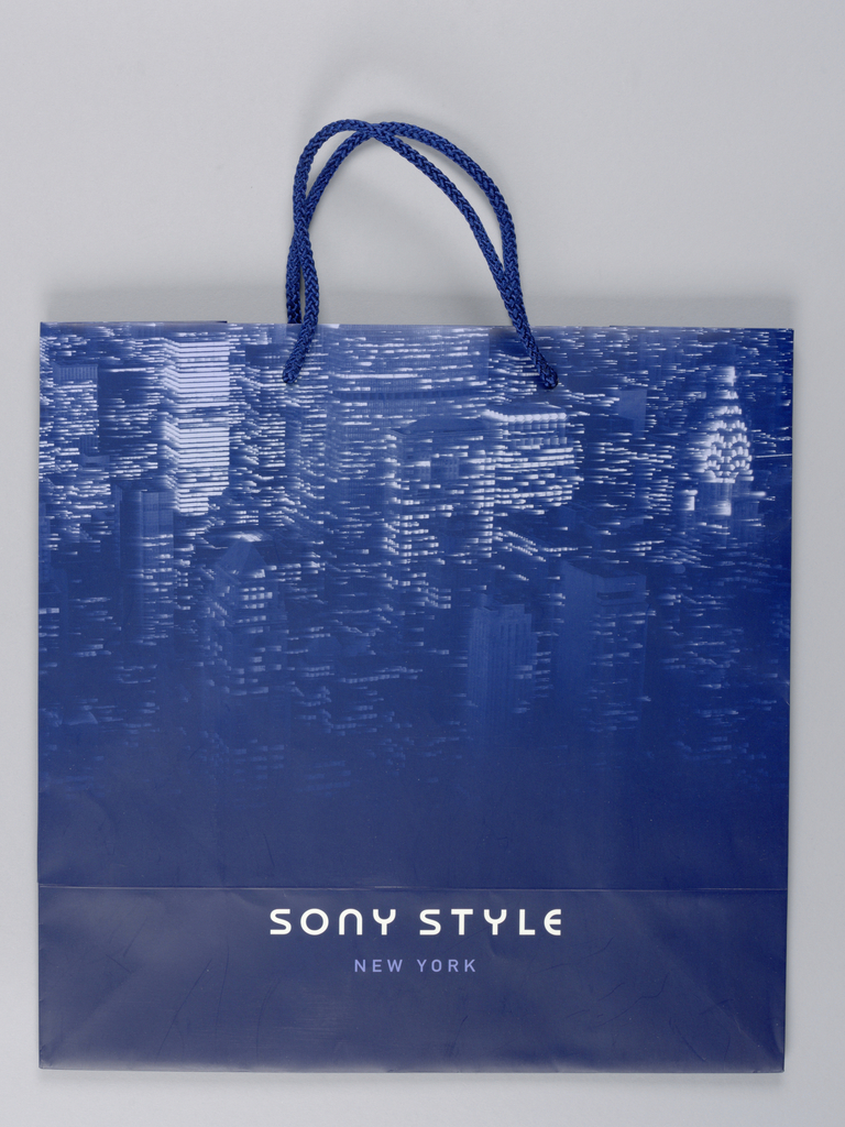 Shopping Bag, Sony Style