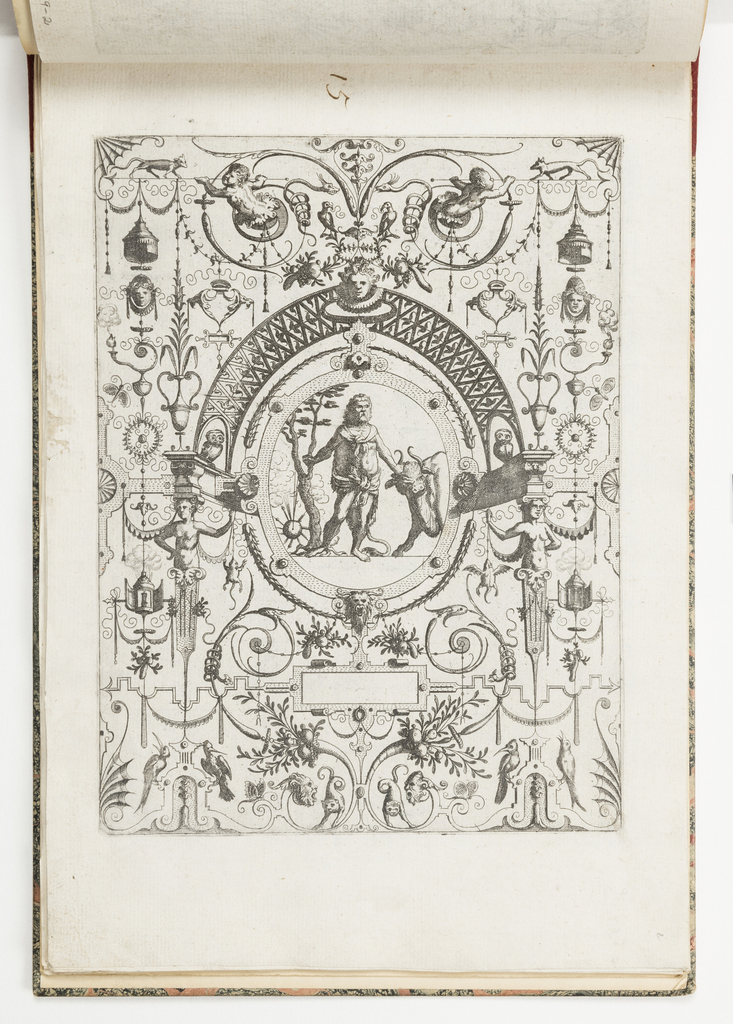 Print, Plate 15, from Grotteßco in diverßche manieren (Various Grotesques)