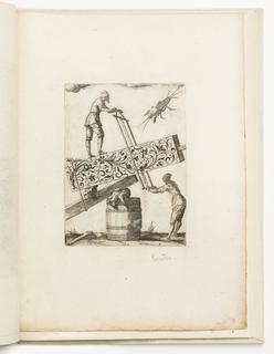 Print, Plate 2, from Si quid melius videris (A Suite of Blackwork Designs)