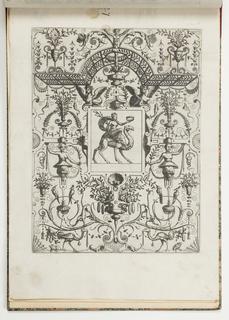 Print, Plate 27, from Grotteßco: in diverßche manieren, 1564