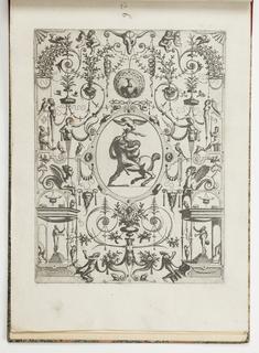 Print, Plate 26, from Grotteßco: in diverßche manieren