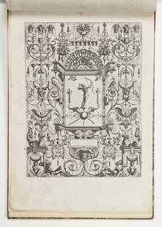 Print, Plate 29, from Grotteßco: in diverßche manieren