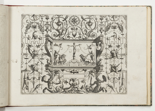 Print, Plate 23, from Grotteßco: in diverßche manieren (Various Grotesques), 1564