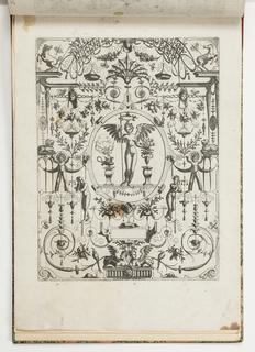 Print, Plate 28, from Grotteßco: in diverßche manieren