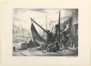 Print, Waterfront