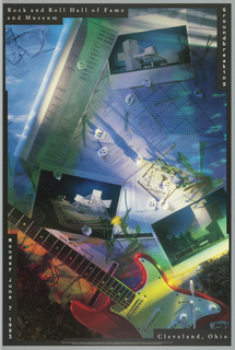 Poster, Rock and Roll Hall of Fame, 1993