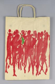 Shopping Bag, Bloomingdale's: Crowd of People