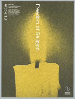 Poster, Article 18: Freedom of Religion