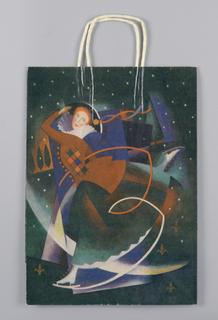 Shopping Bag, Bloomingdale's: Christmas 1983