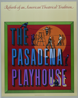 Poster, The Pasadena Playhouse