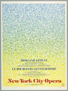 Poster promoting the New York City Opera 1979 season.