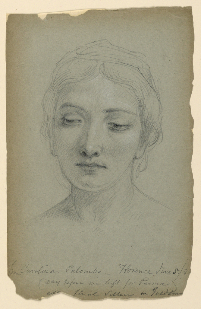 """Drawing, Study for """"The Goldsmith"""", June 5, 1883"""