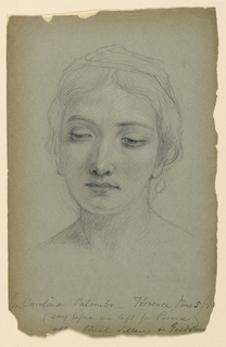 "Drawing, Study for ""The Goldsmith"", June 5, 1883"