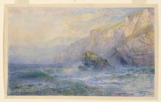 Drawing, Scotch or Irish Cliffs, 1900
