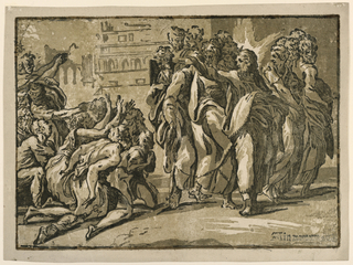 Print, Christ Healing the Lepers