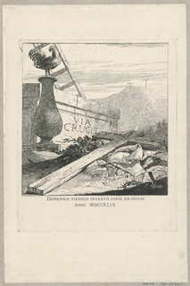 Print, Via Crucis, frontispiece