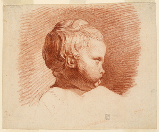 Drawing, Study of a Child's Head