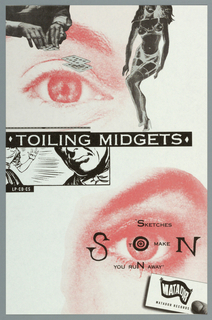 Poster, Toiling Midgets: Sketches, ca. 1980–95