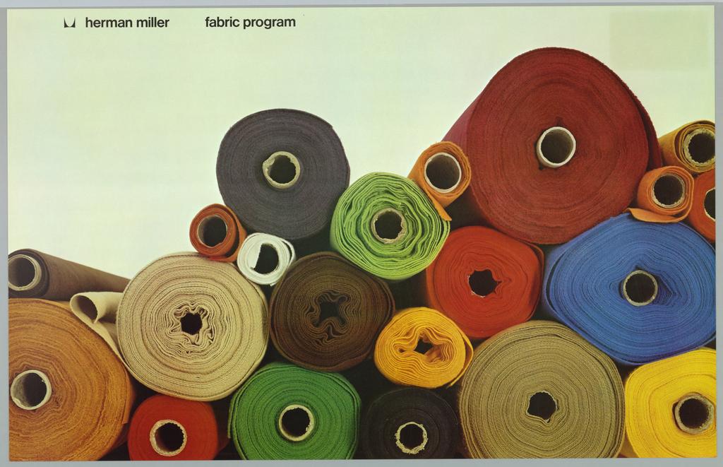 Poster, Herman Miller Fabric Program