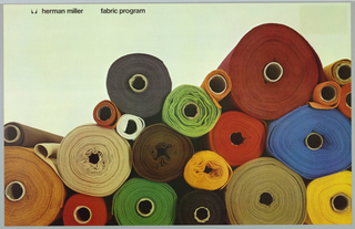 Poster, Herman Miller Fabric Program, 1976