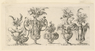 "Print, Six Vases, from ""Raccolta"