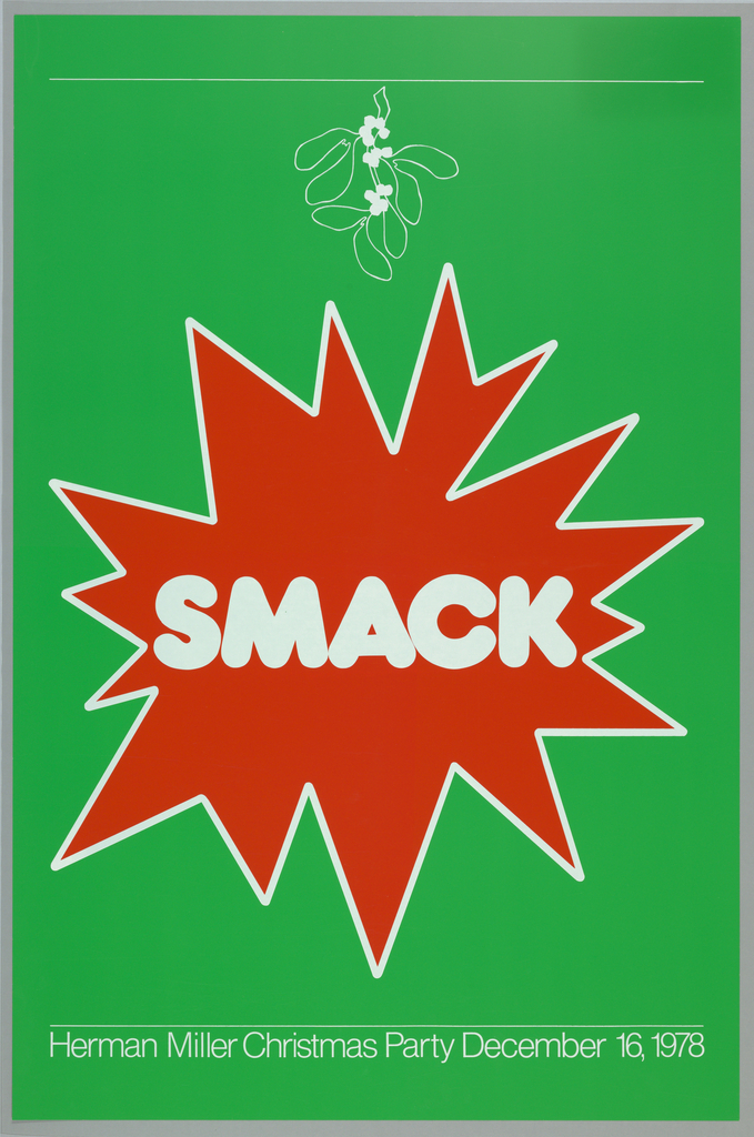 Poster, Smack, 1978
