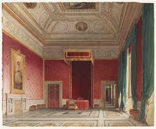Drawing, Sala del Thorvaldsen, Rome