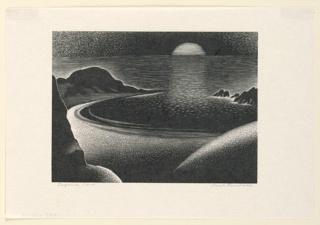 Print, Laguna Cove