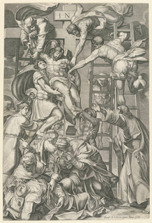 Print, Descent from the Cross
