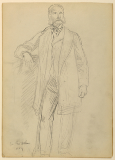 Drawing, President Chester A. Arth, 1884