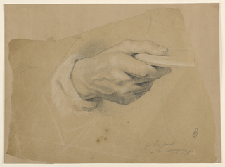 """Drawing, Study for """"Communion of t, 1844"""