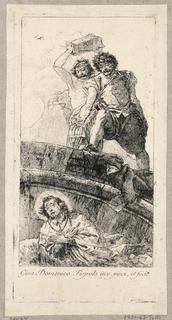 Print, Martyrdom of St. John Nepomunk