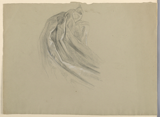 """Drawing, Study for """"A Magdalen"""", D, 1852"""