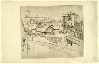 Print, Bangor, Pennsylvania, ca. 1936
