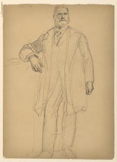 Drawing, President Chester Alan Ar, June 1886
