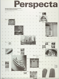 Poster, Perspecta 13/14, 1971
