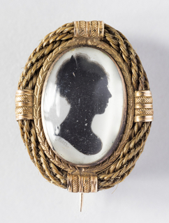Locket, Silhouette (possibly England)