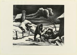 Print, The Woodpile