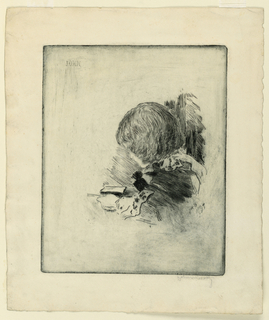 Print, Head of a Boy (John)