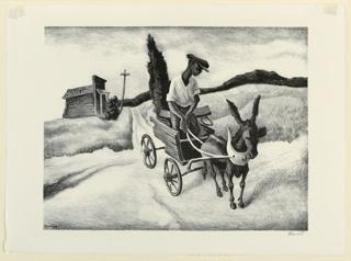 Print, Lonesome Road